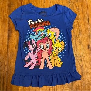 My Little Pony Girls T-Shirt Size 6X
